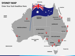 Sydney map PPT slide 13