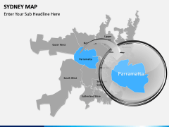Sydney map PPT slide 14