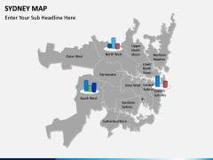 Sydney map PPT slide 16