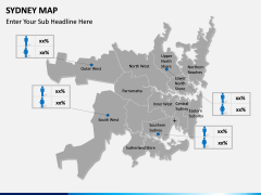 Sydney map PPT slide 18