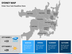 Sydney map PPT slide 19
