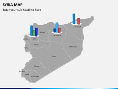 Syria map PPT slide 11