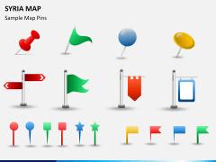 Syria map PPT slide 19