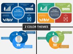 Talent assessment PPT cover slide