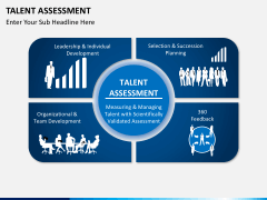 Talent assessment PPT slide 1