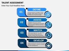 Talent assessment PPT slide 3