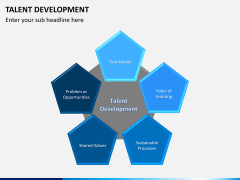 Talent development PPT slide 1
