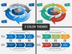 Talent management framework PPT cover slide