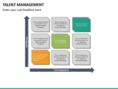 Talent management PPT slide 22