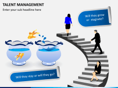 Talent management PPT slide 1