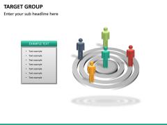 Target group PPT slide 20