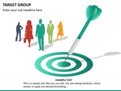 Target group PPT slide 13