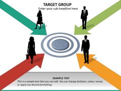 Target group PPT slide 18