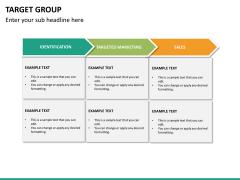 Target group PPT slide 19