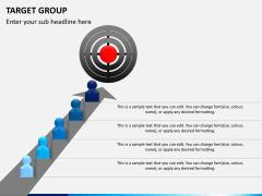 Target group PPT slide 1