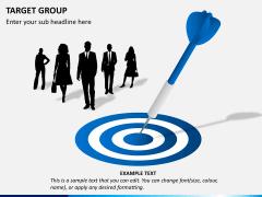 Target group PPT slide 3