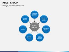 Target group PPT slide 4