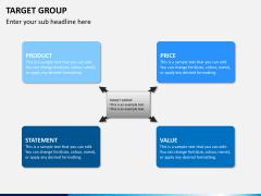 Target group PPT slide 5