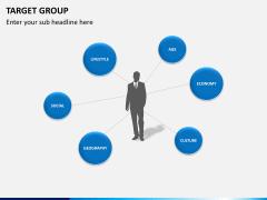 Target group PPT slide 7