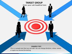 Target group PPT slide 8