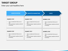Target group PPT slide 9