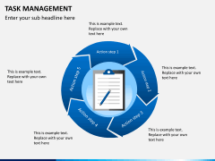 Task management PPT slide 1