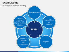 Team building PPT slide 1