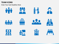 Team Icons PPT slide 1