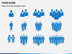 Team Icons PPT slide 2