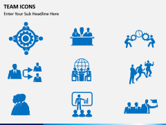 Team Icons PPT slide 5