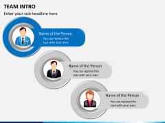 Team intro PPT slide 1