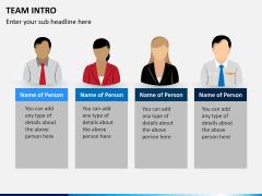 Team intro PPT slide 4