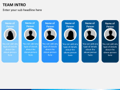 Team intro PPT slide 5