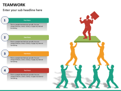 Teamwork PPT slide 18
