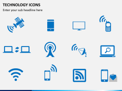Technology icons PPT slide 6