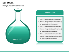 Test tubes PPT slide 12