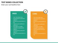 Text boxes bundle PPT slide 85