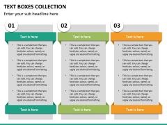 Text boxes bundle PPT slide 86