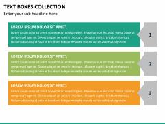 Text boxes bundle PPT slide 88