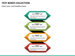 Text boxes PPT slide 42