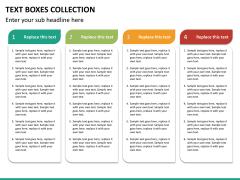 Text boxes bundle PPT slide 95
