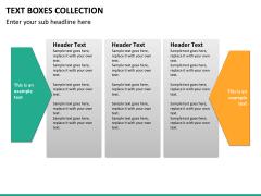 Text boxes bundle PPT slide 97