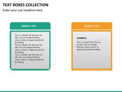Text boxes bundle PPT slide 99