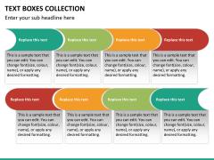 Text boxes bundle PPT slide 101
