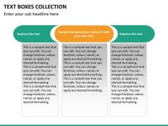 Text boxes bundle PPT slide 102