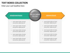 Text boxes bundle PPT slide 84