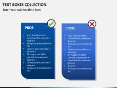 Text boxes bundle PPT slide 10