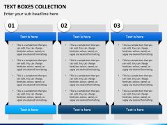 Text boxes bundle PPT slide 11