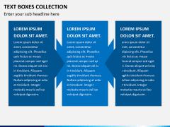Text boxes bundle PPT slide 12
