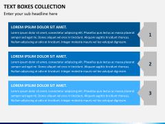 Text boxes bundle PPT slide 13